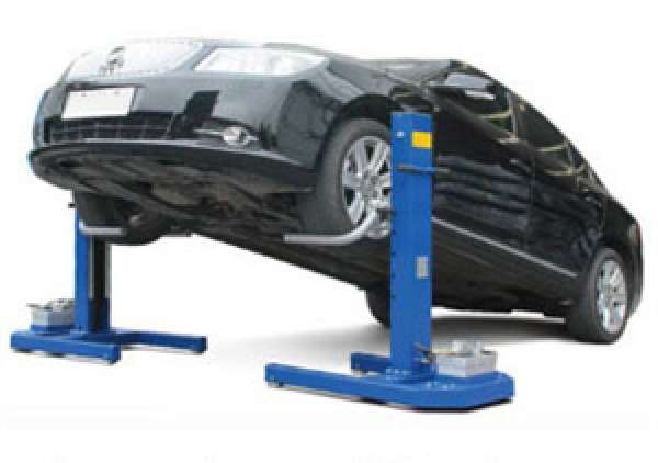 Globe Portable Auto Lift : Xl auto equipment lift el easy mobile side